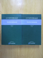 Anticariat: L'universale letteratura (2 volume)