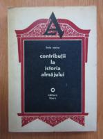 Anticariat: Liviu Smeu - Contributii la istoria almajului