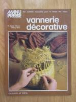 Anticariat: R. Seidel Gilman - Vannerie decorative