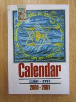 Calendar Luah pe anul 5761 (2000-2001)