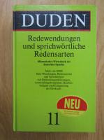Dunden, volumul 11. Redewendungen und sprichwortliche