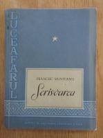 Francisc Munteanu - Scrisoarea (volumul 1)