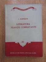 Anticariat: I. Ghimesan - Literatura Frantei combatante