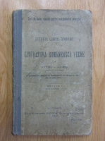 Anticariat: Petru V. Hanes - Istoria limbii romane si literatura romaneasca veche