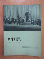 Anticariat: Revista Muzica, anul XII, nr. 1, ianuarie 1962