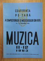 Anticariat: Revista Muzica, anul XIII, nr. 11-12, noiembrie-decembrie 1963