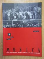 Anticariat: Revista Muzica, anul XIII, nr. 3, martie 1963