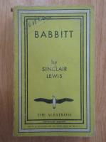 Anticariat: Sinclair Lewis - Babbitt (1935)
