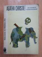 Anticariat: Agatha Christie - Los elefantes pueden recordar