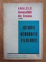 Anticariat: Analele Universitatii din Craiova, anul II, 1973