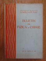 Anticariat: Buletin de fizica si chimie, anul IX, volumul 9, 1985