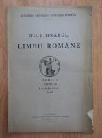 Anticariat: Dictionarul limbii romane (volumul I, partea a III-a, fascicula I)