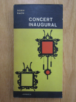 Anticariat: Dorin Baciu - Concert inaugural