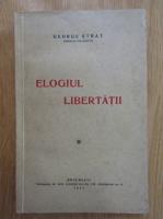 Anticariat: George Strat - Elogiul libertatii
