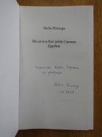 Anticariat: Helia Rimoga - De ce n-a fost jelita Carmen Zgarbur (cu autograful autoarei)