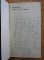 Anticariat: Nicoale Dragos - Moartea calului troian (cu autograful autorului)