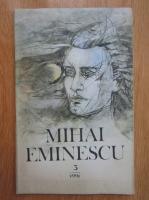Revista Mihai Eminescu, nr. 3, 1991