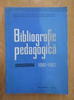 Stanciu Stoian - Bibliografie pedagogica, 1961-1962