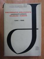 Traian Ionascu - Bibliografie Juridica Romana, 1944-1968
