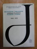 Traian Ionascu - Bibliografie Juridica Romana, 1968-1973