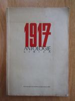 1917 antologie lirica