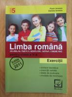 Anticariat: Florin Ionescu, Daniela Ionescu - Limba romana pentru clasa a V-a. Exercitii