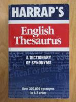 John O. E. Clark - Harrap's English Thesaurus