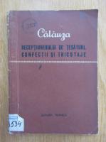 Anticariat: M. Liveanu - Calauza receptionerului de tesaturi, confectii si tricotaje