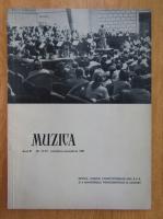 Anticariat: Revista Muzica, anul XI, nr. 11-12, noiembrie-decembrie 1961