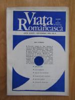 Anticariat: Revista Viata Romaneasca, anul LXXXV, nr. 9, septembrie 1990