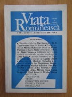 Anticariat: Revista Viata Romaneasca, anul LXXXVI, nr. 2, februarie 1991