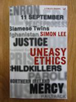 Anticariat: Simon Lee - Uneasy Ethics