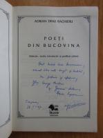 Anticariat: Adrian Dinu Rachieru - Poeti din Bucovina (cu autograful autorului)