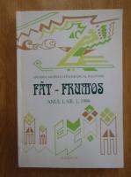 Anuarul Fat-Frumos, anul I, nr. 1, 1999