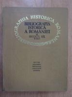 Bibliografia istorica a Romaniei (volumul 3, partea V)