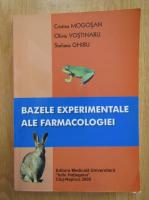 Cristina Mogosan - Bazele experimentale ale farmacologiei