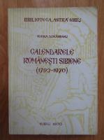 Elena Dunareanu - Calendarele romanesti sibiene 1793-1970