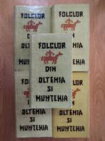 Iordan Datcu - Folclor din Oltenia si Muntenia (5 volume)