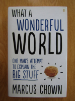Anticariat: Marcus Chown - What a Wonderful World. One Man's Attempt to Explain the Big Stuff