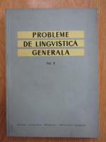 Probleme de lingvistica generala (volumul 5)