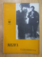 Revista Muzica, anul XI, nr. 8, august 1961