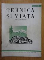 Anticariat: Revista Tehnica si Viata, anul III, nr. 4, aprilie 1944
