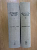 Anticariat: Sabina Cornelia Stroescu - La typoloie bibliographique des faceties roumaines (2 volume)