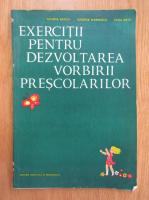 Anticariat: Tatiana Badica - Exercitii pentru dezvoltarea vorbirii prescolarilor