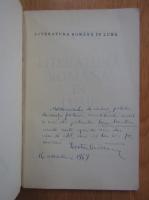 Victor Craciun - Literatura romana in lume (cu autograful autorului)
