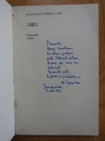 Alexandru Popescu Tair - Colonade solare (cu autograful autorului)