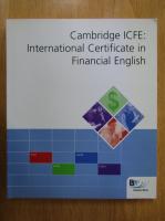 Anticariat: Cambridge ICFE. International Certificate in Financial English Workbook (contine CD)