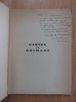 Constantin Nisipeanu - Cartea cu grimase (cu autograful autorului si dedicatie pentru George Calinescu)