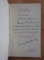 George Demetru Pan - Dincolo de mine insumi (cu autograful autorului)