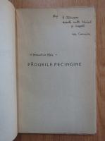 Ion Caraion - Panopticum (cu autograful autorului si dedicatie pentru George Calinescu)